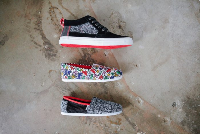 Basket TOMS Keith Haring Foundation