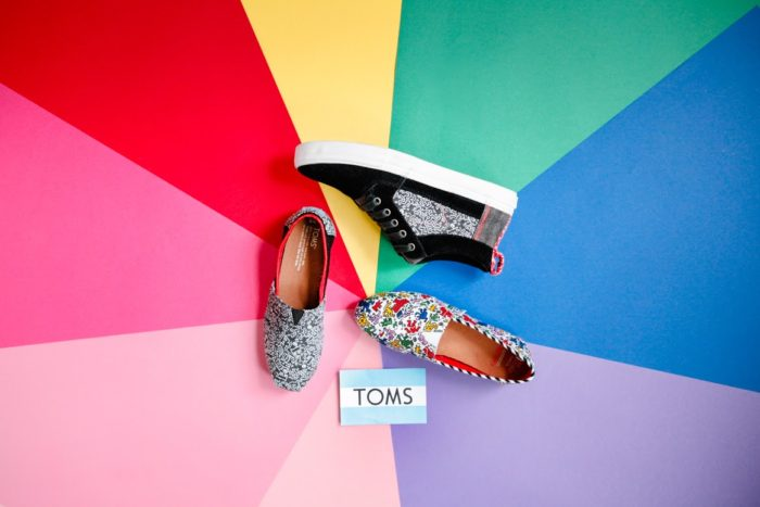 Chaussures TOMS Keith Haring