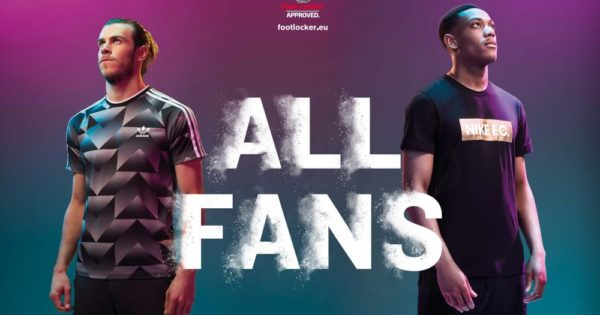 Foot Locker Collection All Fans avec Gareth Bale et Anthony Martial