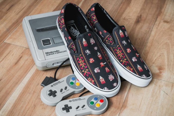 Basket Vans collaboration Nintendo