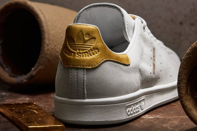 adidas Stan Smith 999 24K Gold Leaf