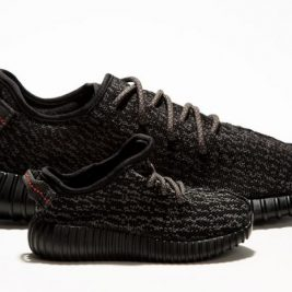Baby Yeezy Boost 350 Pirate Black