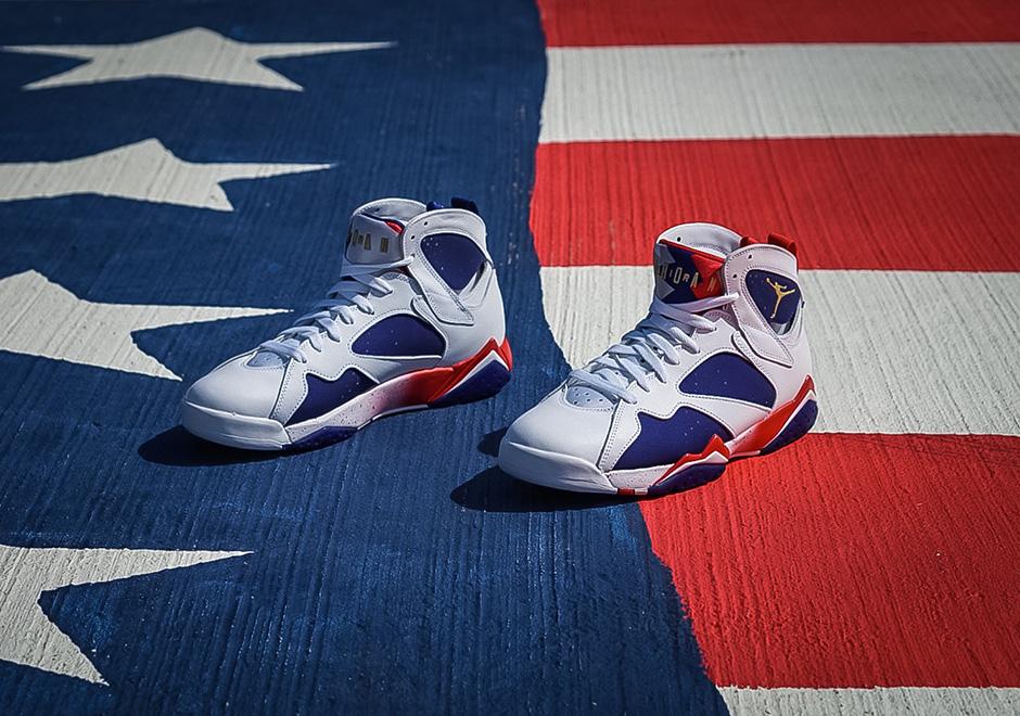 ca03f708e788c9 Basket Air Jordan 7 Olympic Alternate