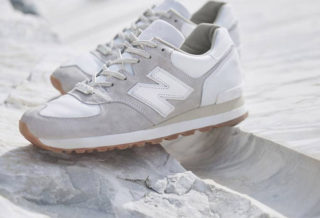 "END X New Balance M575 ""Marble White"""