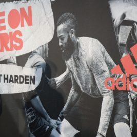 James Harden présente son project Harden à Paris