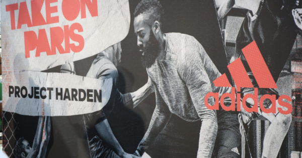 James Harden présente son project Harden à Paris