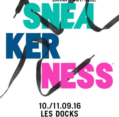 Sneakerness Paris 2016