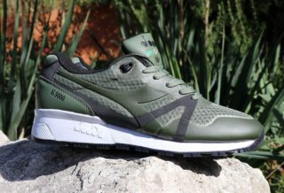 Diadora N9000 Mm Bright II Green Black Footlocker Exclusive