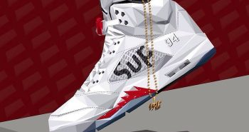 illustration-sneakers-air-jordan-v-supreme