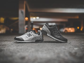 """New Balance Trailbuster x Undefeated """"Unbalanced"""" Black and White"""