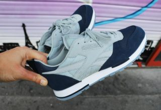 "Reebok Classic Leather City ""Paris"" Exclusivité Foot Locker"