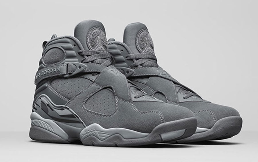 Air Jordan 8 Cool Grey - 305381-014