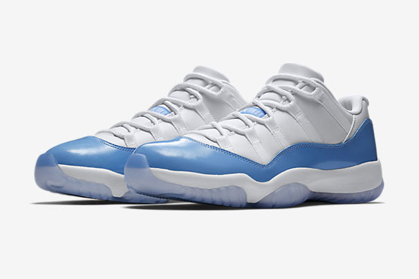 Air Jordan 11 Low University Blue - 528895-106