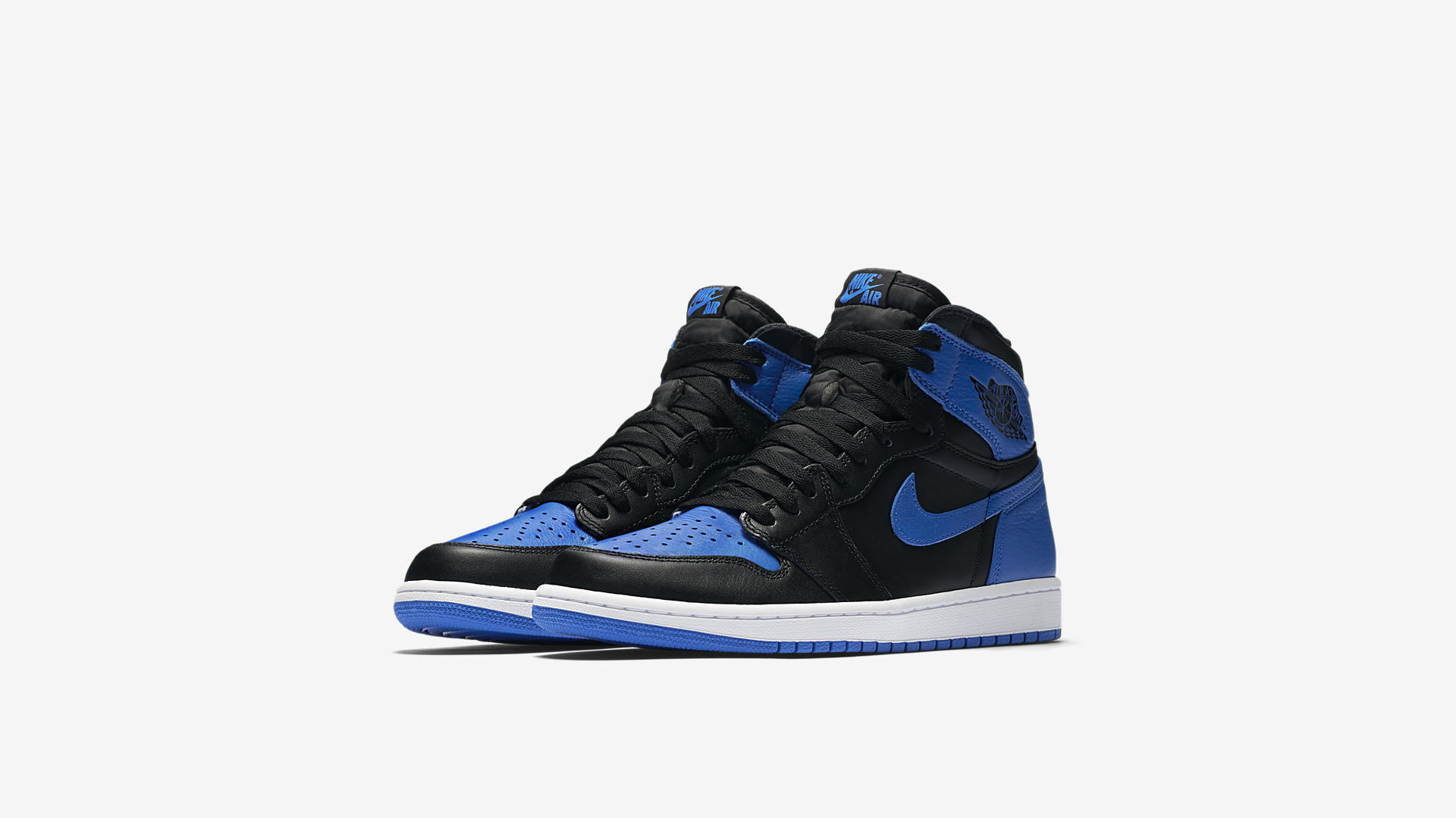 air jordan 1 royal 2017 - 555088-007