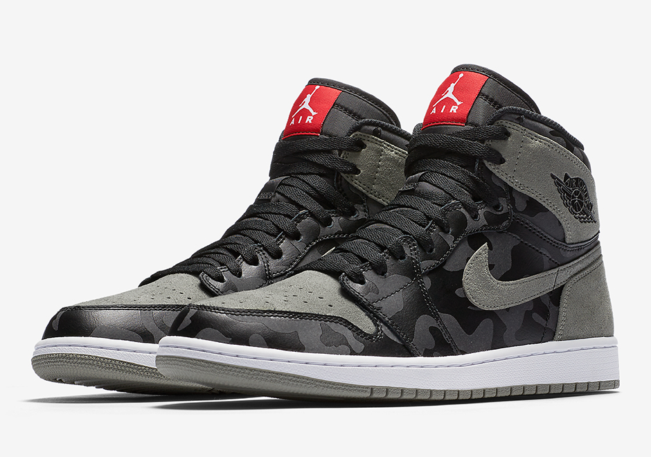 air jordan 1 shadow camo - 332550-027