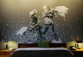 Banksy ouvre un hotel à Bethléem en Cisjordanie