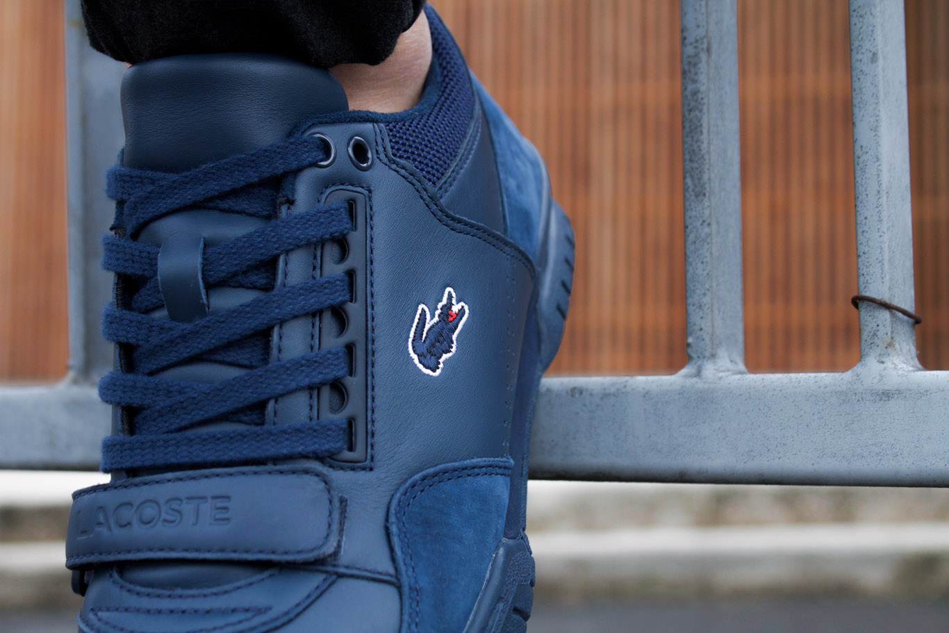Basket Lacoste Missouri G117 1 LEATHER NAVY 4