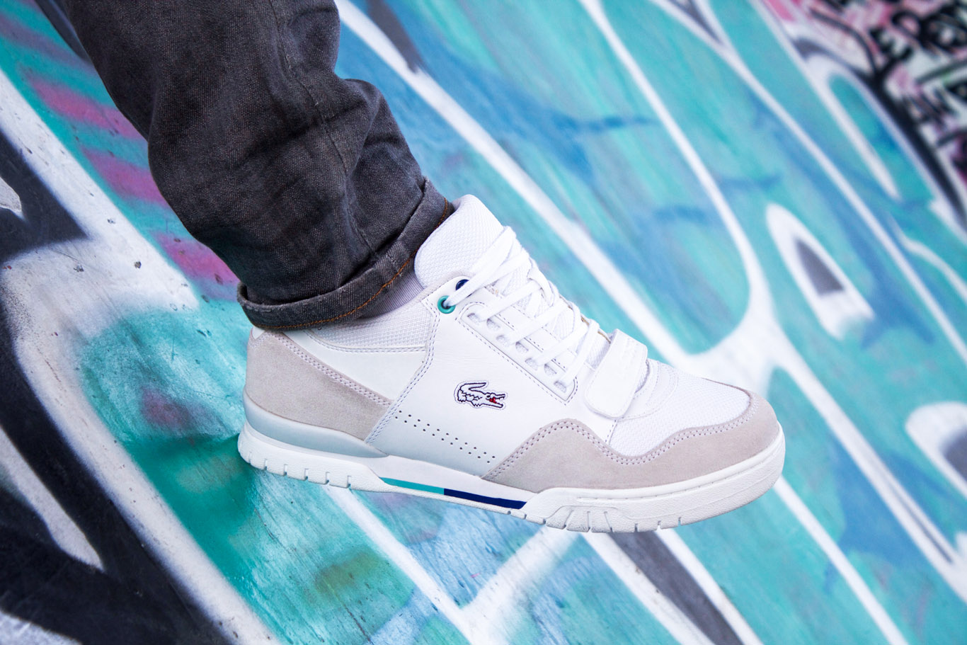 Sneakers Lacoste Missouri G117 - SPORT WHITE