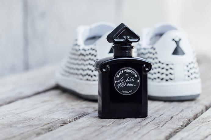 Guerlain La petire Robe Noire X Le Coq Sportif Arthur Ashe