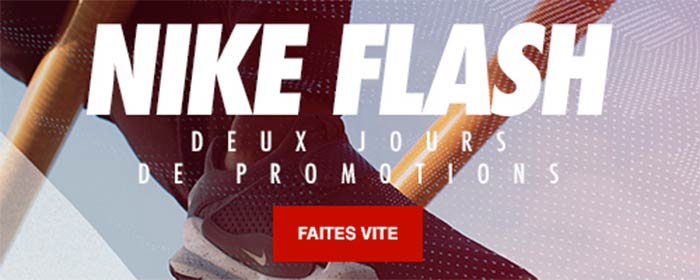 Nike Flash Sale Promotion Sneakers Lifestyle