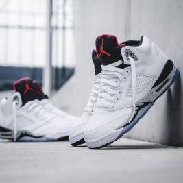 Air Jordan 5 White Cement 136027-104