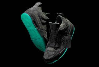 Une Basket KAWS X Air Jordan IV pour 2018 ?