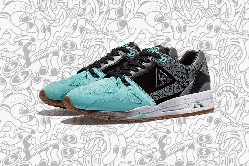 Kicks Lab x Le Coq Sportif R1000 by Steven Harrington