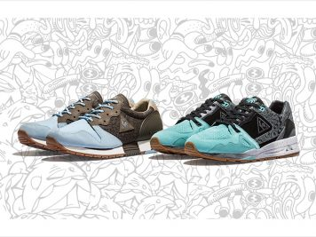 Kicks Lab x Le Coq Sportif Road Trippin Pack