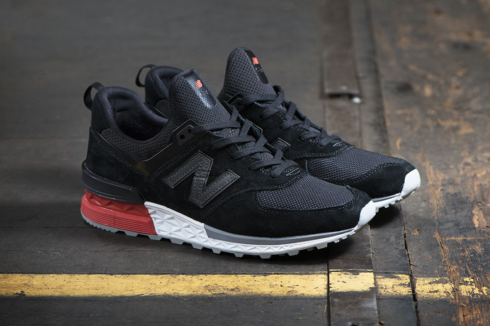New Balance 574S Black Mens