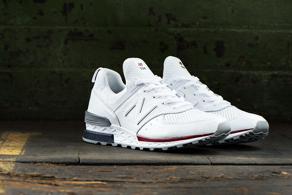 New Balance MS574 White Mens