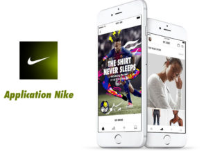 L'application Nike disponible en France