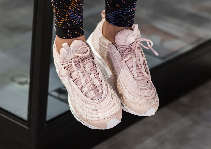 Nike Wmns Air Max 97 Premium Pink Silt Red | Sneak-art