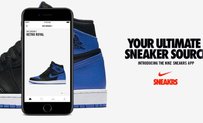 Nike SNEAKRS app
