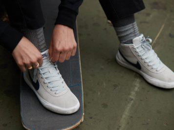 Chaussure de Skate Femme Nike SB Bruin High