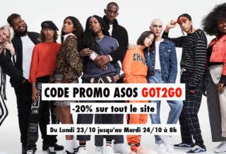 Code Promo ASOS Réduction de -20% sur tout le site