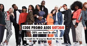 Code Promo Asos 2017
