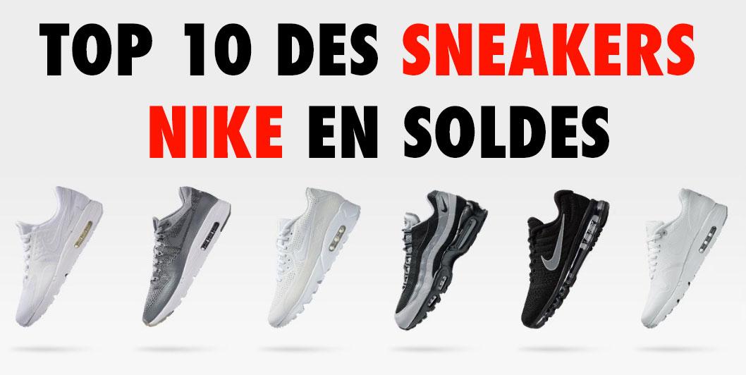 Top 10 des Sneakers Nike en Soldes