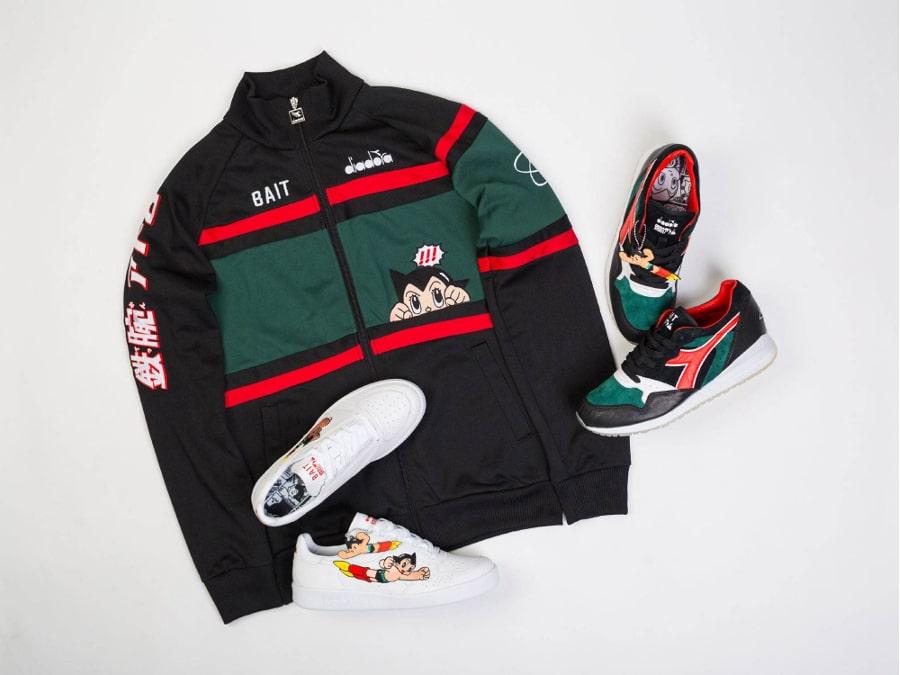 Sneakers BAIT x Diadora x Astro Boy