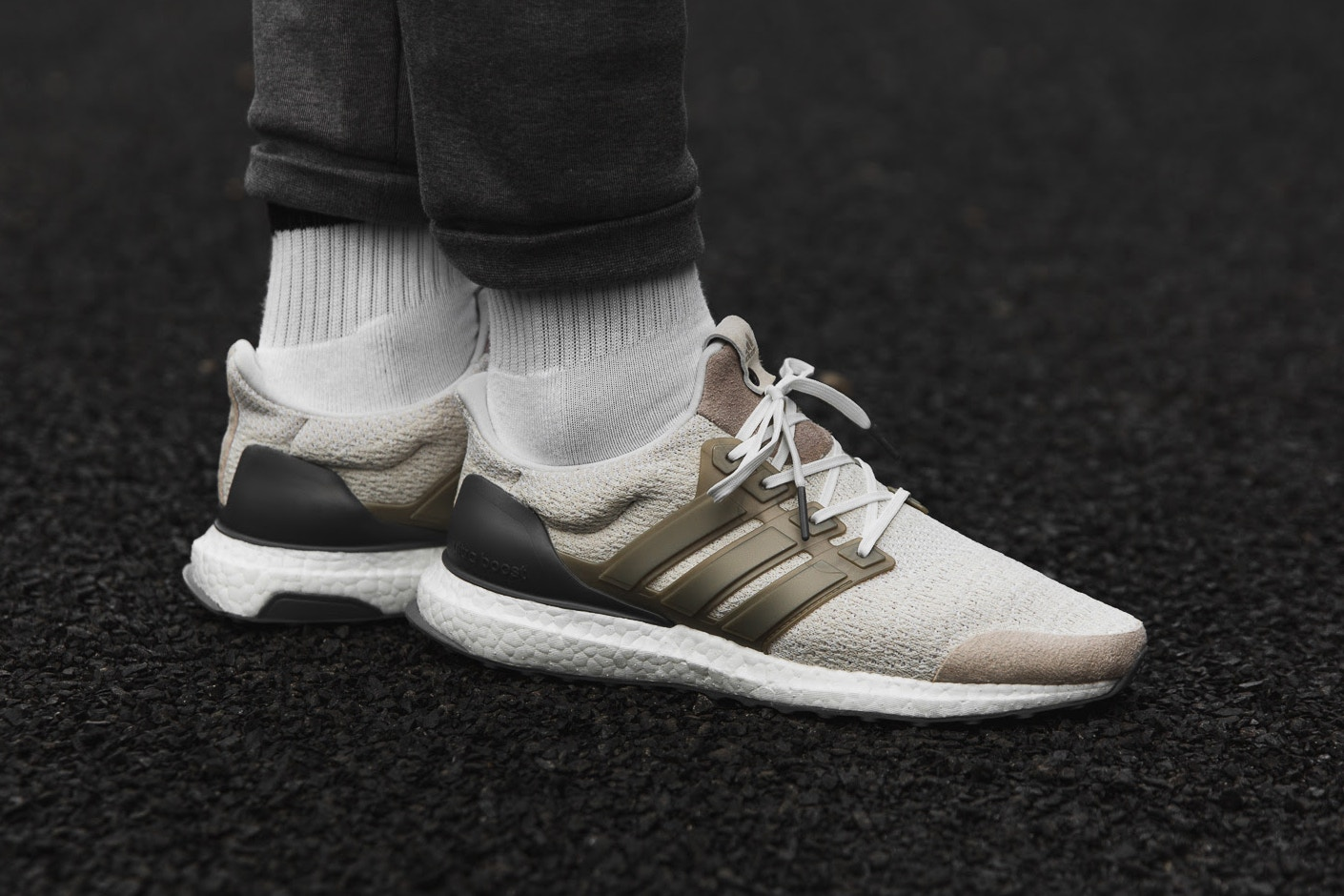 adidas Consortium UltraBOOST Lux White Chocolate Brown