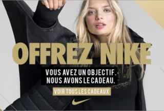 Code Promo Nike pour Noël - Décembre