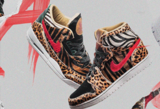 Air Jordan Animal Pack Custom par The Shoe Surgeon
