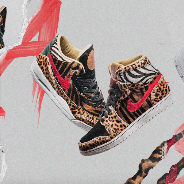Air Jordan Animal Pack by The Shoe Surgeon
