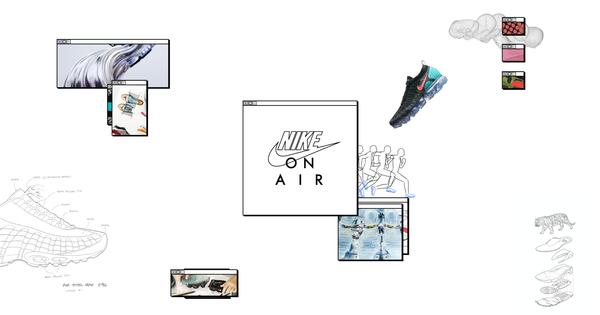 NIKE ON AIR sneaker design workshop à Paris