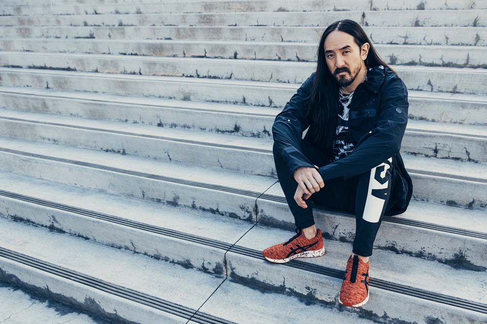 ASICS dévoile les chaussures HyperGEL Kenzen avec Steve Aoki