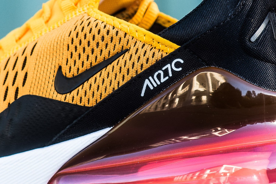 Nike Air Max 270 Tiger Black University Gold