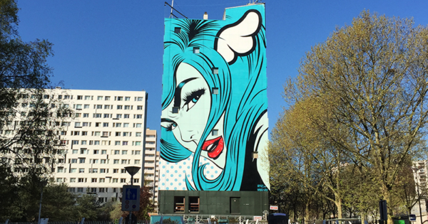 DFACE mur street art paris 13