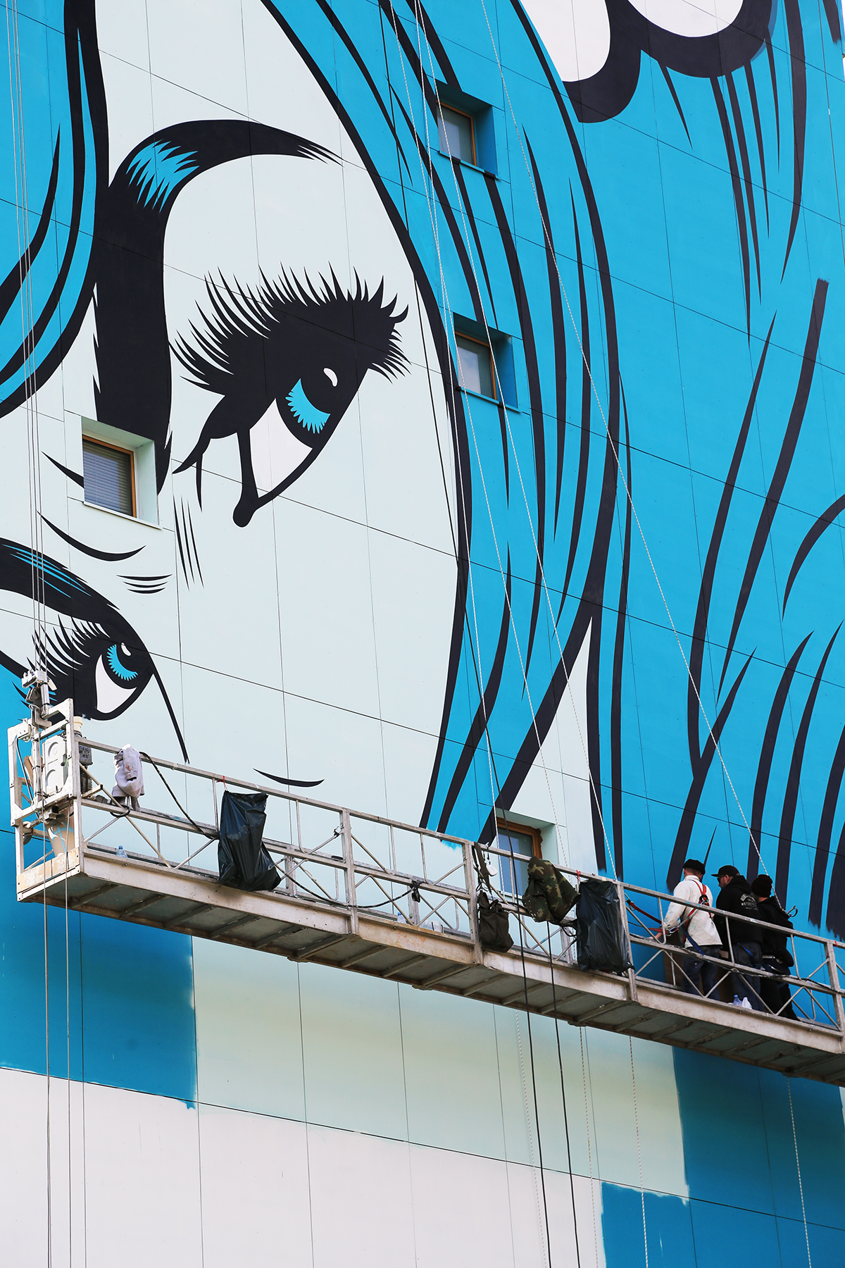 DFACE nouveau mur street art paris 13