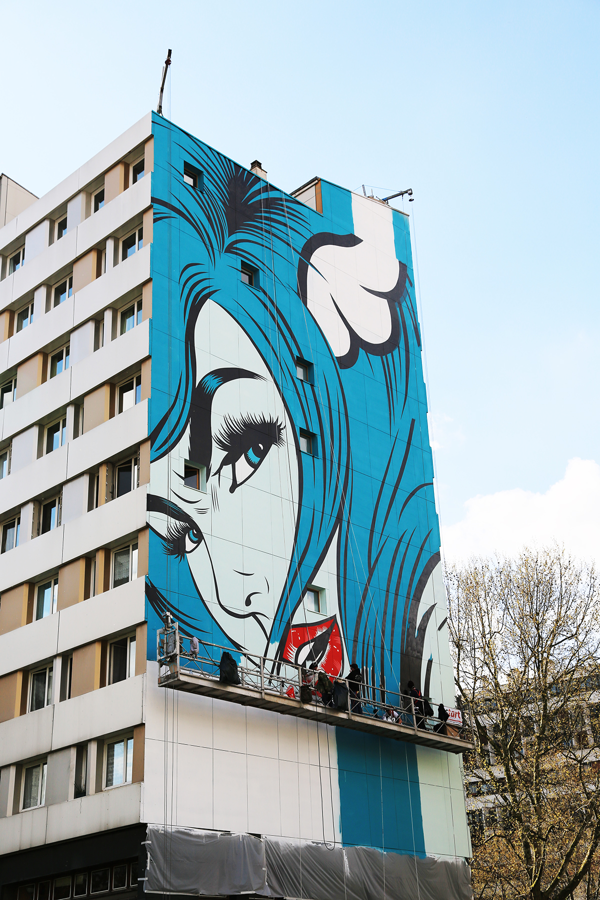 DFACE street art paris 13