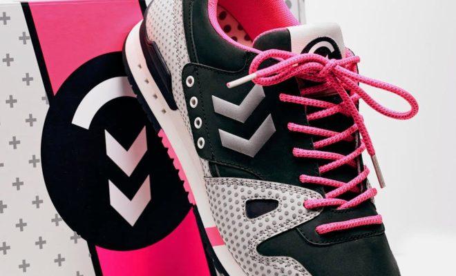sneakers hummel black rainbow marathona