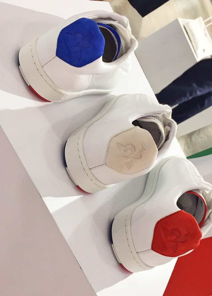 Chaussure BLAZON - Le Coq Sportif - Fabriquée en France